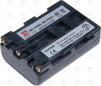 T6 power baterie NP-FM50, NP-FM51, NP-FM30