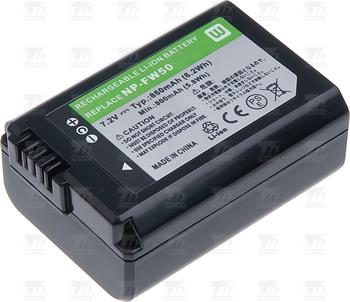 T6 power baterie NP-FW50; DCSO0026