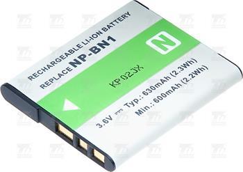 T6 power baterie NP-BN1; DCSO0027