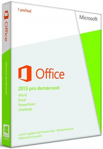 Microsoft Office Home and Student 2013 ENG; 79G-03549