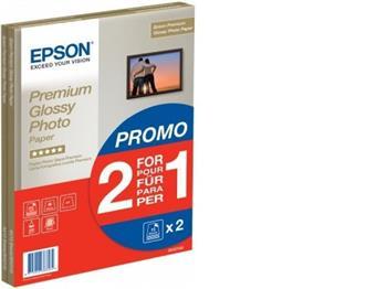EPSON S042169 - Paper A4 Premium Glossy Photo 255g/m2 (2x15 sheet) 2 za cenu 1; C13S042169