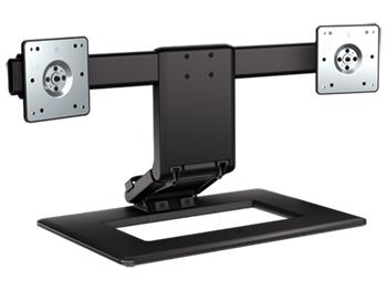 Držák TV HP Adjustable Dual Monitor StandHP Adjustable Dual Monitor Stand - AW664AA; AW664AA