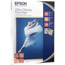 Epson C13S041944 Ultra Glossy Photo Paper; C13S041944