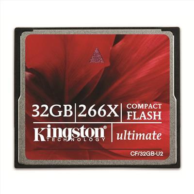 Kingston 32GB Compact Flash (CF) 266x Ultimate; CF/32GB-U2