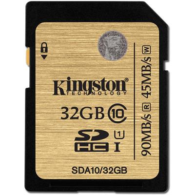 Kingston 32GB SDHC Ultimate UHS-I class 10; SDA10/32GB