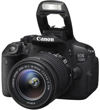 Canon EOS 700D + EF-S 18-55mm IS STM; 8596B032