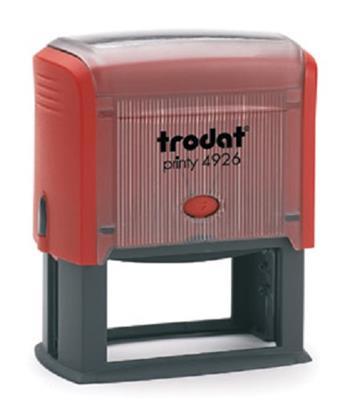 Razítko Trodat 4926, červená