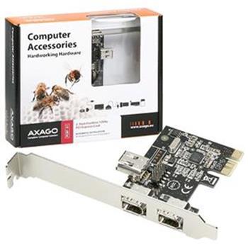 AXAGO PCI-Express adapter 2+1x 1394a VIA