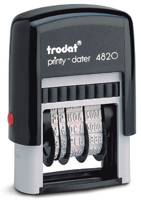 Razítko Trodat 4820 Dater