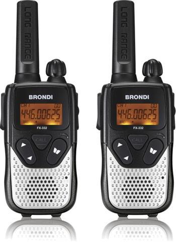 Brondi PMR vysílačky FX-332 TWIN; BR-FX332SK