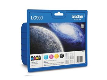 Brother LC-900 VALBP barevný multipack