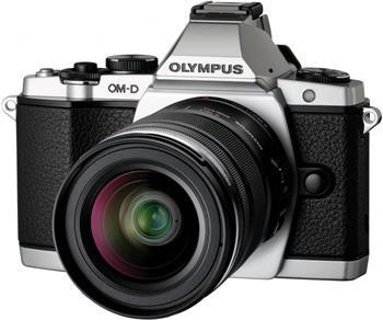 Olympus OM-D E-M5 + 12-50mm stříbrný; V204045SE000