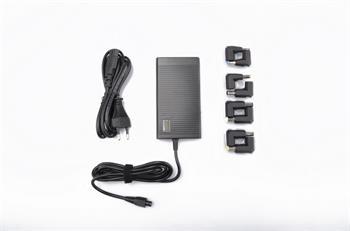 Crono CB10037, univerzální napájecí adaptér, 65W, USB, 8 konektorů; CB10037
