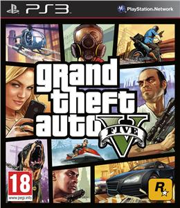 PS3 Grand Theft Auto V (GTA 5); 5026555410229