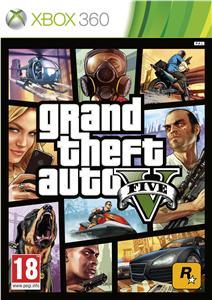 X360 Grand Theft Auto V (GTA 5); 5026555258050