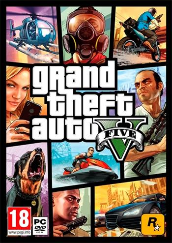 PC Grand Theft Auto V (GTA 5); 5026555064255