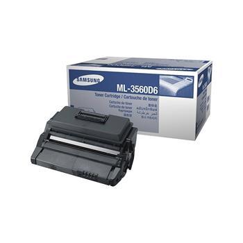 Samsung Black Toner / Drum / Standard Yield, ML-3560D6/ELS; ML-3560D6/ELS