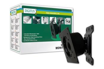 Digitus VESA držák LCD nástěnný otočný max.( VESA 75x75, 100x100) 15 kg; DA-90307