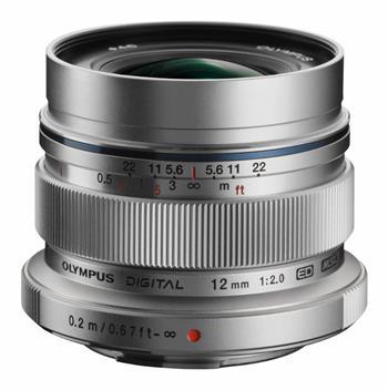 Olympus EW-M1220 silver - Objektiv F2.0, ekv.24mm, 130g, pro Olympus PEN; V311020SE000