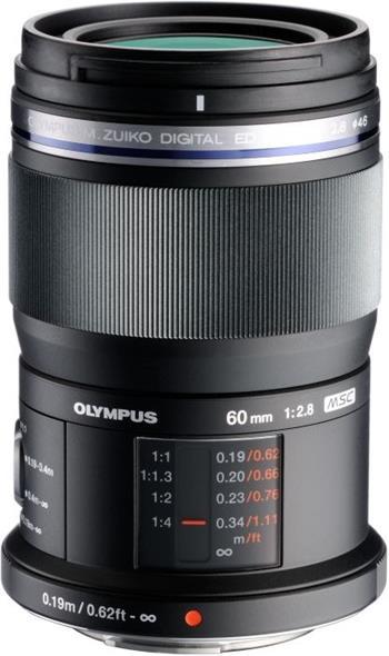 Olympus M.ZUIKO ED 60mm f/2,8 macro; V312010BE000