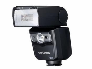Olympus FL-600R - Dálkově řízený systémový blesk, LED světlo, GN50/36, 4x AA baterie; V3261300E000