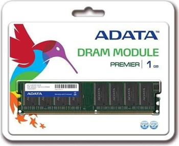 A-Data DIMM DDR 1GB, 400MHz, Retail; AD1U400A1G3-R