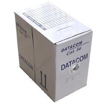 DATACOM UTP flex, Cat.5e PVC,šedý, 305m, licna