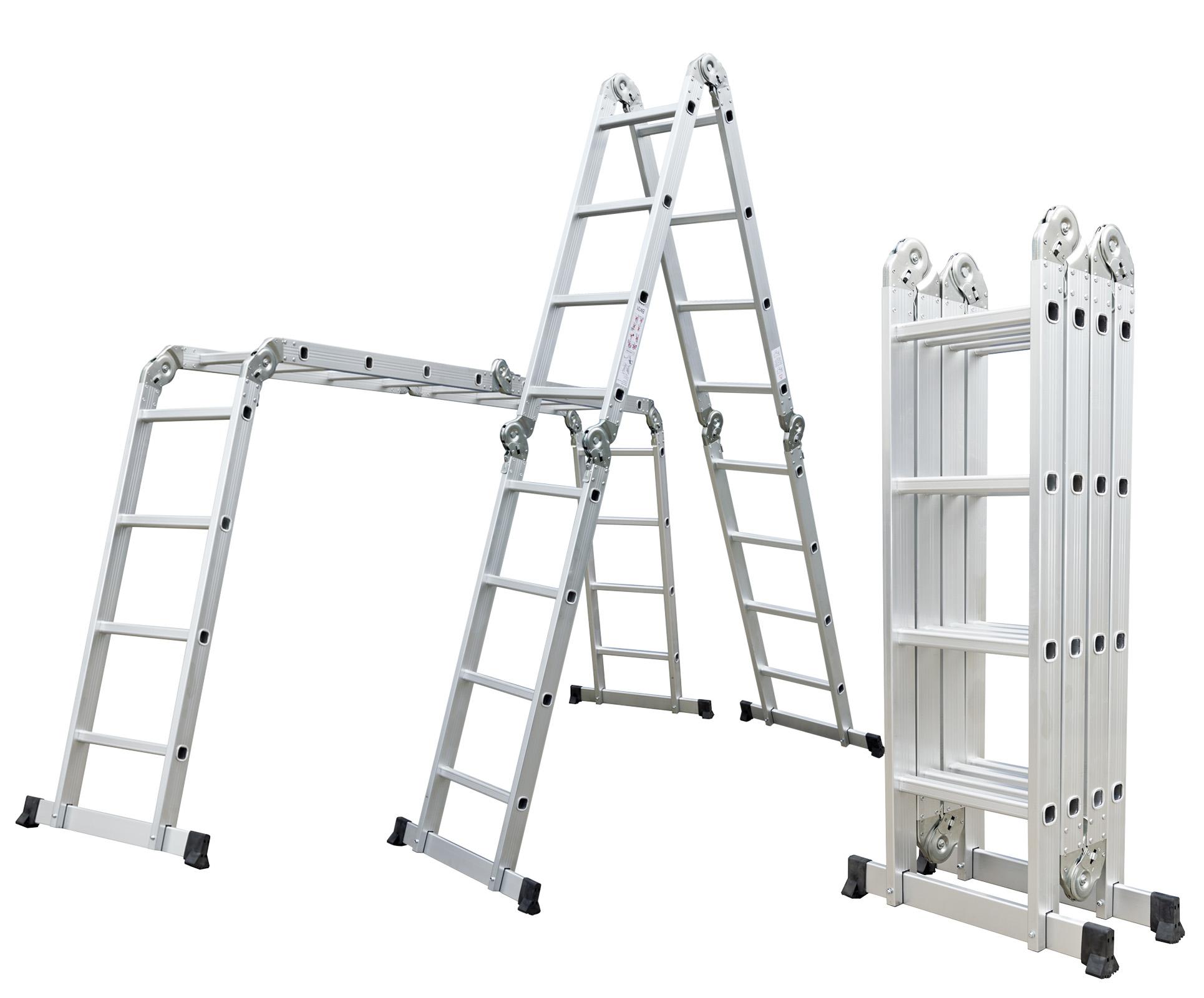 Hliníkové štafle G21 GA-SZ-4x4-4,6M multifunkční