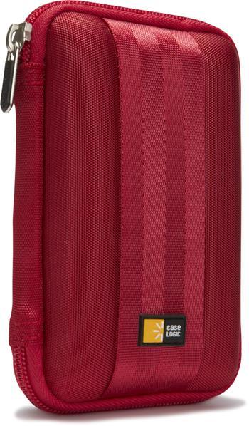 """Skořepinové pouzdro na 2,5"""" přenosný HDD CL-QHDC101R -červená"""