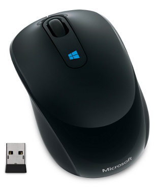 Microsoft Sculpt Mobile Mouse Wireless, černá