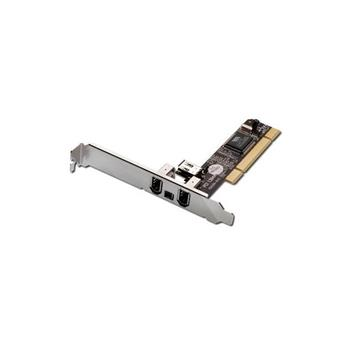 Digitus FireWire PCI adaptér 3+1 Port, VIA VT6306, low profile