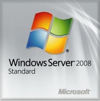 OEM Win 2008 Svr Stnd R2 SP1 64Bit Eng DVD 1-4 CPU + 5 CAL; P73-05128