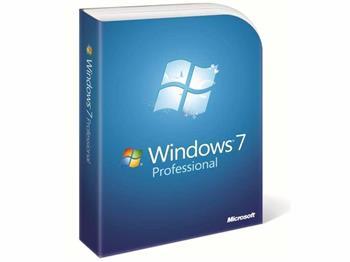 Microsoft Win Pro 7 SP1 32-bit/x64 Eng (legalizace) DVD OEM GGK