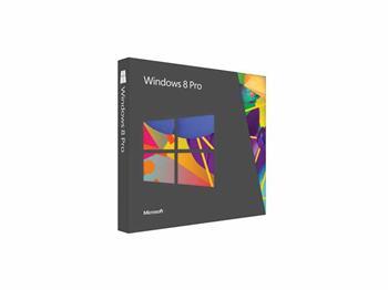 Microsoft Windows Pro 8 64Bit Eng DVD - 1pk (OEM), FQC-05955; FQC-05955