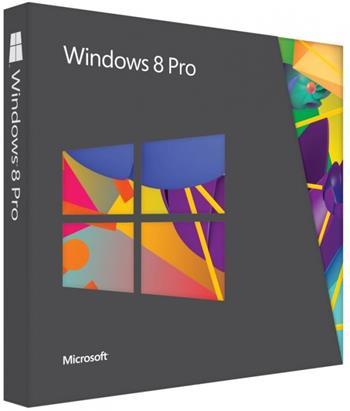 Microsoft Windows Pro 8 Win32 Eng DVD - 1pk (OEM)