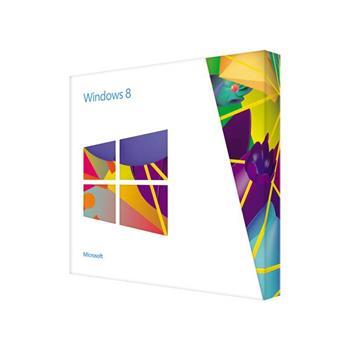 Microsoft Windows 8 64Bit Slovak DVD - 1pk (OEM), WN7-00422; WN7-00422