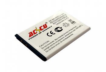 Baterie Accu pro Sony Ericsson Xperia U, Li-ion, 1400mAh; MTSE0028