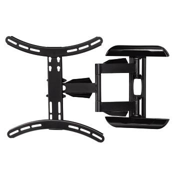 Nástěnný držák TV, pohyblivý, 400x400, 1*, černá
