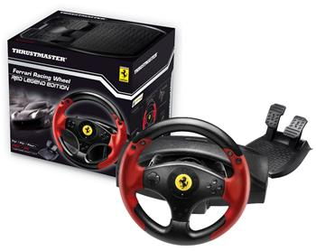 Thrustmaster pro PC/PS3, Sada volantu a pedálů Ferrari Racing Wheel Red Legend Edice; 4060052