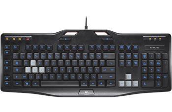 Logitech G105 Gaming keyboard, LED podsvícení, US; 920-005057