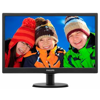 "Philips 193V5LSB2/10 - monitor, 18.5"", LCD, 1366x768, 200 cd/m2, 10M:1, 5ms, VGA; 193V5LSB2/10"