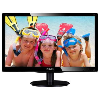 "Philips 226V4LAB/00 - monitor, 21,5"", LCD, 1920x1080, 250 cd/m2, 10M:1, 5ms, VGA, DVI-D; 226V4LAB/00"