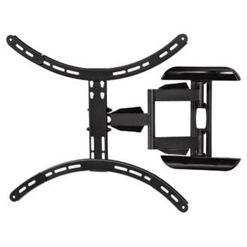 Nástěnný držák TV, pohyblivý, 600x500, 1*, černá