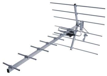 Solight venkovní DVB-T anténa, 9-14dB, UHF, 21. - 69. kanál; HN51