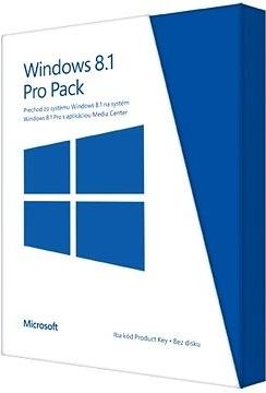 Microsoft Windows 8.1 Pro Pack SK PUP