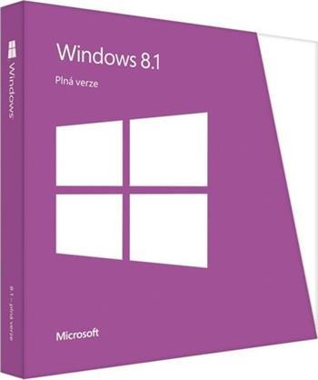OEM Microsoft Windows 8.1 64-Bit CZ; 44R-00192
