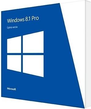 Microsoft Windows 8.1 Pro 64-Bit CZ ; 4YR-00178