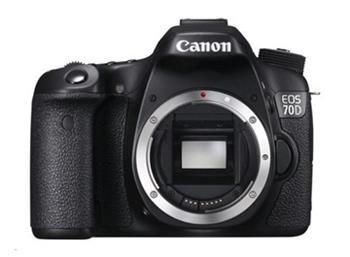 Canon EOS 70D zrcadlovka 20,2Mpix - tělo