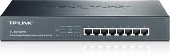 TP-LINK TL-SG1008PE - 8 port Gigabit PoE switch ; TL-SG1008PE