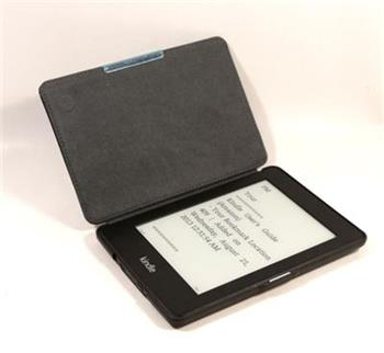 C-TECH PROTECT AKC-05, černé pouzdro pro Amazon Kindle PAPERWHITE/PAPERWHITE 2, hardcover, WAKE/SLEEP funkce,; AKC-05BK